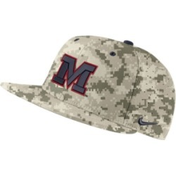 Nike Ole Miss Rebels Aerobill True Fitted Baseball Cap found on Bargain Bro India from Macy's for $35.00
