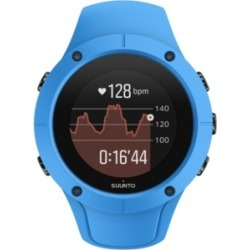 Suunto Spartan Trainer Wrist Hr, Blue Blue Silicone Band with a Digital Dial found on Bargain Bro India from Macy's Australia for $437.14
