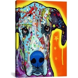 "iCanvas Great Dane by Dean Russo Wrapped Canvas Print - 26"" x 18"""