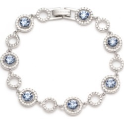 Givenchy Silver-Tone Crystal Flex Bracelet found on Bargain Bro India from Macy's for $49.30