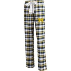 Concepts Sport Women's Michigan Wolverines Piedmont Flannel Pajama Pants found on Bargain Bro India from Macy's for $39.99