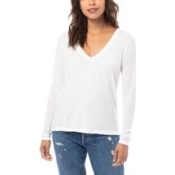 Alternative Apparel Slinky Jersey Women's V-Neck T-Shirt found on MODAPINS from Macy's for USD $40.00