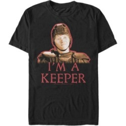 Fifth Sun Harry Potter Men's Ron Weasley I'M A Keeper Quidditch Player Short Sleeve T-Shirt