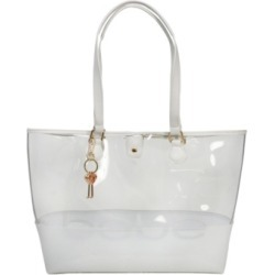 bebe Lindsey Clear Tote found on MODAPINS from Macys CA for USD $114.36