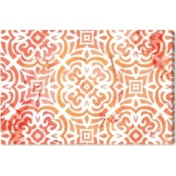 Oliver Gal Peachy Afternoon Canvas Art, 45