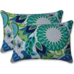 Pillow Perfect Sophia Over-Sized Rectangular Throw Pillow, Set of 2