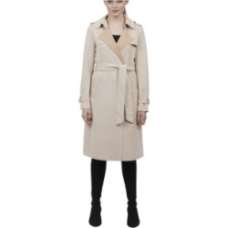 Love Token Ultra Suede Trench Coat found on MODAPINS from Macy's for USD $190.00