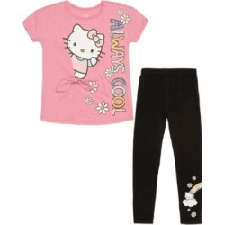 Girls Hello Kitty Always Cool 2 Piece Legging Set found on MODAPINS from Macy's for USD $34.00