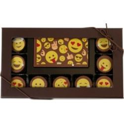 Chocolate Works 10-Pc. Emoji Gourmet Chocolate Truffles