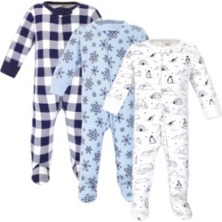 Touched by Nature Baby Girls and Boys Arctic Sleep and Play, Pack of 3
