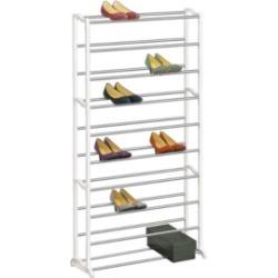 Lynk 20 Pair 4 Tier Shoe Shelf Organizer