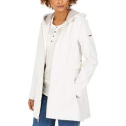 Via Spiga Hooded Water-Resistant Raincoat found on MODAPINS from Macys CA for USD $113.77