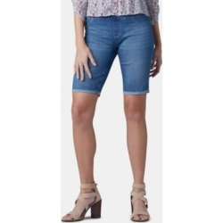 Lee Pull-On Denim Bermuda Shorts found on MODAPINS from Macy's for USD $24.99