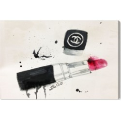 Oliver Gal Lipstick Stains Canvas Art, 24