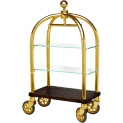 Godinger Luggage Cart 2 Tier Server Gold found on Bargain Bro Philippines from Macy's Australia for $211.95
