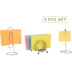 Mind Reader 3 Piece Set Bill & Letter Holder, Ticket Spindle, Completed Office Work Set found on Bargain Bro India from Macy's for $16.99