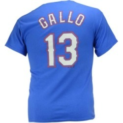 Majestic Men's Joey Gallo Texas Rangers Official Player T-Shirt found on Bargain Bro Philippines from Macy's for $15.00