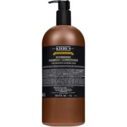 Kiehl's Since 1851 Grooming Solutions Nourishing Shampoo + Conditioner, 33.8 fl. oz.