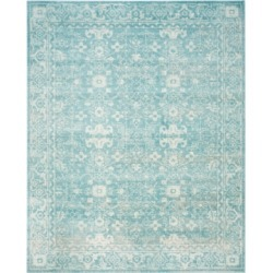 Safavieh Evoke EVK270D Light Blue/Ivory 4' x 6' Area Rug found on Bargain Bro Philippines from Macy's for $96.00