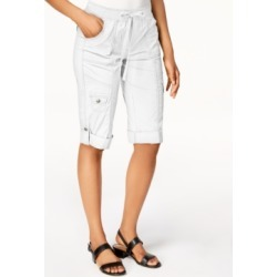 Style & Co Drawstring Cargo Shorts, Created for Macy's found on MODAPINS from Macys CA for USD $48.51