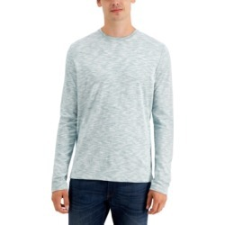 Michael Kors Men's Long-Sleeve Reverse-Print Crew Neck T-Shirt found on Bargain Bro India from Macys CA for $83.86