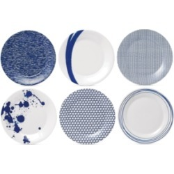 Royal Doulton Pacific Accent Plates, Set of 6 found on Bargain Bro Philippines from Macy's for $59.00
