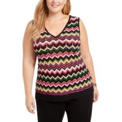 Inc Zig-Zag Sleeveless Sweater, Created for Macy's found on Bargain Bro India from Macy's Australia for $11.62