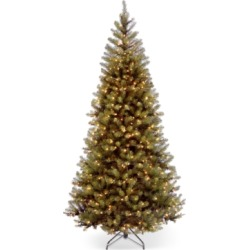 National Tree Company 7.5' Spruce Hinged Christmas Tree with 450 Clear Lights