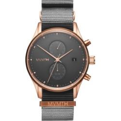 Mvmt Men's Voyager Graphite Nylon Strap Watch 42mm