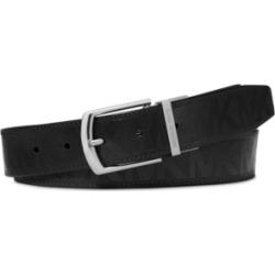 Michael Kors Men's Signature Leather Belt