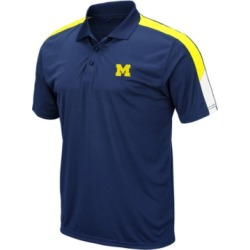 Colosseum Men's Michigan Wolverines Color Block Polo found on Bargain Bro India from Macy's for $25.00