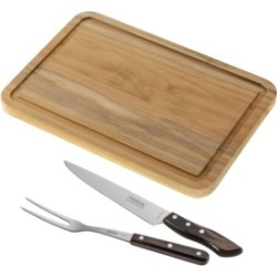 Tramontina 3 Piece Carving Knife Set and Cutting Board