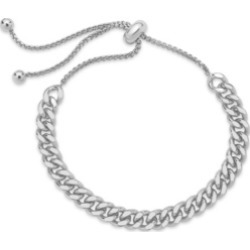 Women's Chain Link Bolo Silver Plated Bracelet found on MODAPINS from Macys CA for USD $54.36