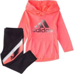 Adidas Baby Girls Long Sleeve Melange Hooded Top & Tight Set found on Bargain Bro India from Macy's for $36.00