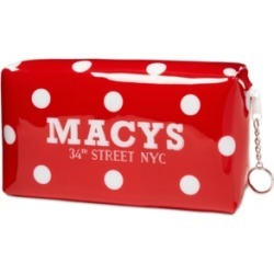 Dani Accessories Macy's Polka Dot Makeup Bag, Created for Macy's found on MODAPINS from Macy's Australia for USD $15.97