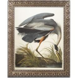 John James Audubon 'Great Blue Heron' Ornate Framed Art - 16