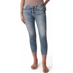 Silver Jeans Co. Suki Cropped Skinny Jeans found on MODAPINS from Macy's for USD $50.99