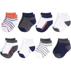 Baby Vision 0-24 Months Unisex Yoga Sprout Baby Socks, 8-Pack