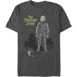 Twilight Zone Cbs Men's Look Up At Laser Eye Short Sleeve T-Shirt