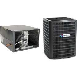 3 Ton Direct Comfort 14.5 SEER Condenser GSX160361 and Cased Coil CHPF3743C6 Horizontal System with TXV by Heat and Cool found on Bargain Bro India from HeatAndCool.com for $1651.08