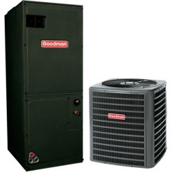 1.5 Ton A/C Goodman GSX160181 16 SEER Central Air Conditioner System - Heat and Cool found on Bargain Bro India from HeatAndCool.com for $2026.00