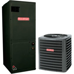 2 Ton Goodman GSX160241 16 SEER Central Air Conditioner System - Heat and Cool found on Bargain Bro India from HeatAndCool.com for $2106.00