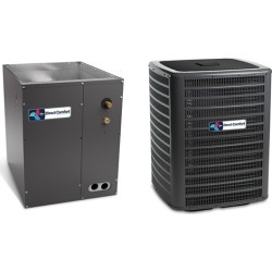 5 Ton Direct Comfort 14.5 SEER Condenser GSX160601 and Cased Coil CAPF4961D6 Upflow/Downflow System with TXV by Heat and Cool found on Bargain Bro India from HeatAndCool.com for $2374.95