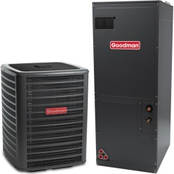 4 Ton Goodman GSZ160481 16 Seer Central Air Conditioner Heat Pump Multi-Position System - Heat and Cool