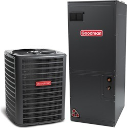 3 Ton Goodman GSZ140361 15 SEER Central Air Conditioner Heat Pump Multi-Position System - Heat and Cool