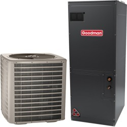 4 Ton Goodman 14.5 SEER Central Air Conditioner System - Heat and Cool found on Bargain Bro India from HeatAndCool.com for $2630.98