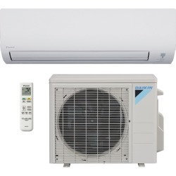 18,000 BTU Daikin RK18NMVJU 19 SEER Wall-Mounted Ductless Mini-Split Inverter Cooling Only Air Conditioner (230 Volt) - Heat and Cool
