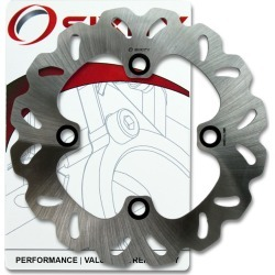 Sixity Rotor MD6261 Rear Replacement Kit