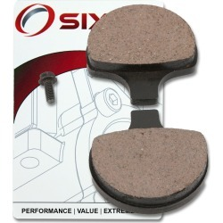 Sixity Front Organic Brake Pads 1996-1999 Harley Davidson XL1200S Sportster 1200 Sport found on Bargain Bro from Sixity for USD $10.55