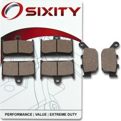 Sixity Front + Rear Organic Brake Pads 2000-2003 Triumph TT600 found on Bargain Bro Philippines from Sixity for $14.40